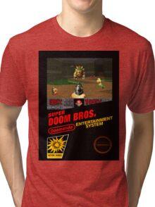 Super Doom Bros. seal Tri-blend T-Shirt