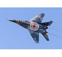 MiG-29 Photographic Print