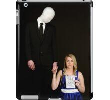 Slender Man and friend cosplay iPad Case/Skin