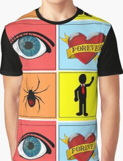 I Love Spider Man (TWO) Graphic T-Shirt