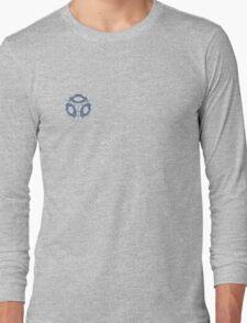 Companion Cube Portal 2 Merch Long Sleeve T-Shirt