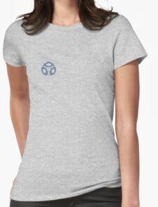 Companion Cube Portal 2 Merch Womens Fitted T-Shirt