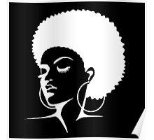 Black Female Pride  Poster