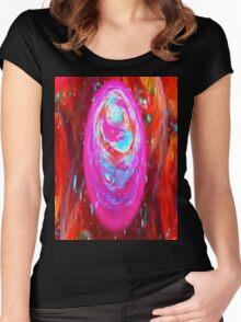 Swirls Women's Fitted Scoop T-Shirt