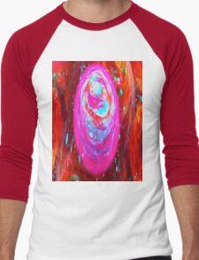 Swirls Men's Baseball ¾ T-Shirt