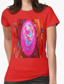 Swirls Womens Fitted T-Shirt