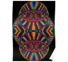 Psychedelic Abstract colourful work 257(part) Poster