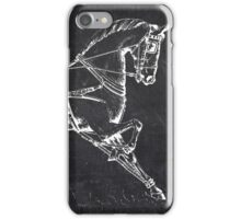 Chalkboard Horse iPhone Case/Skin