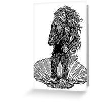 Venus Chimp Greeting Card