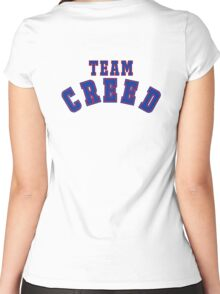 Team CREED Women's Fitted Scoop T-Shirt