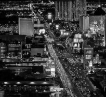 Las Vegas by Night Sticker