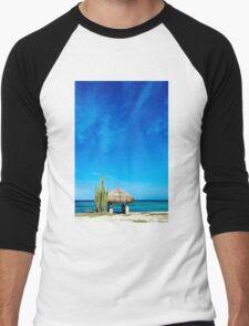 Beach Hut Men's Baseball ¾ T-Shirt