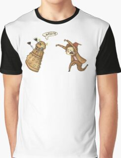 Doctor Who - Chasing a Dalek Graphic T-Shirt