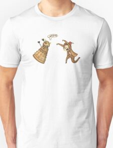 Doctor Who - Chasing a Dalek T-Shirt