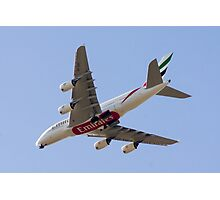 Emirates Super Jumbo Photographic Print