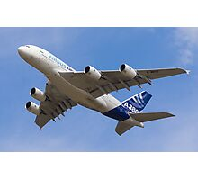 A380 Flypast Photographic Print