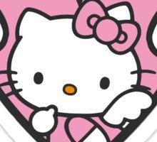 Hello Kitty Heart Sticker