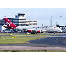 Virgin 747 Photographic Print