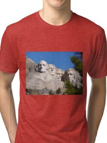 Mount Rushmore Tri-blend T-Shirt