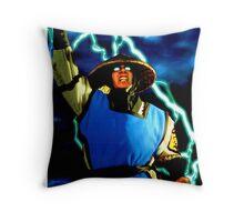 mk raiden  Throw Pillow