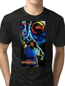 mk raiden  Tri-blend T-Shirt
