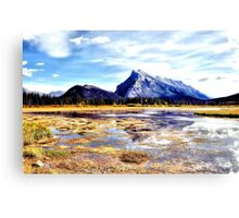 Mt Rundle - Banff, Alberta, Canada Canvas Print