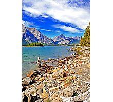 Upper Kananaskis Lake, Alberta, Canada Photographic Print