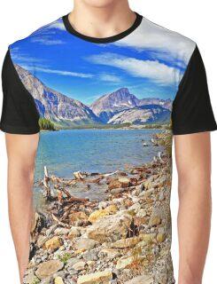Upper Kananaskis Lake, Alberta, Canada Graphic T-Shirt
