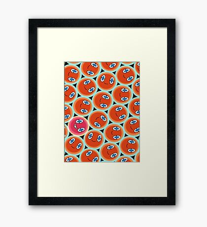 Shiny Rotom Framed Print