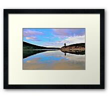 Barrier Lake, Kananaskis, Alberta, Canada Framed Print