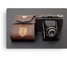 WW II Camera Canvas Print