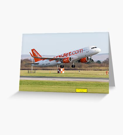 Easyjet A320 Greeting Card