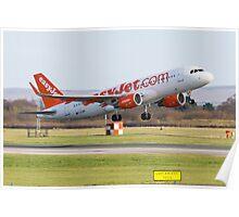 Easyjet A320 Poster