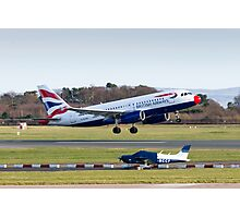 Comic Relief BA A319 Photographic Print