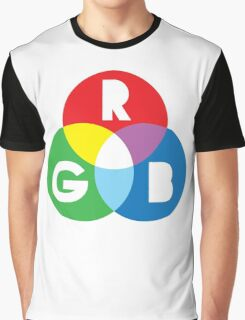 RGB Red Green Blue Colour Color Spectrum Graphic T-Shirt