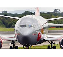 Jet2 737 Taxis Photographic Print