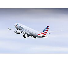 American A330 Photographic Print