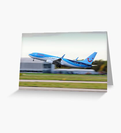 Thomson 737-800 Take-Off Greeting Card