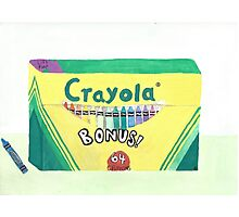 Crayola Box Photographic Print