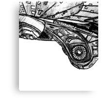 U.S.S. Enterprise E Hull Canvas Print