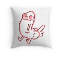 Dick Butt - ONE:Print Throw Pillow