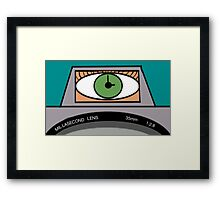 Seeing Millaseconds Framed Print