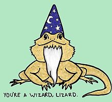 Wizard Lizard by Jacquelyne Drainville