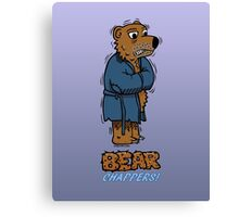 Bear Chappers Canvas Print