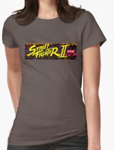 street fighter 2 Womens Fitted T-Shirt
