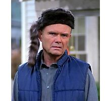 red forman Photographic Print