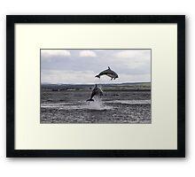 We can jump Framed Print