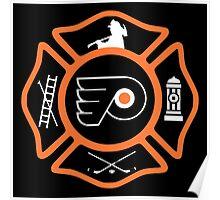 Philadelphia Fire - Flyers style Poster
