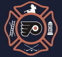 Philadelphia Fire - Flyers style Kids Tee