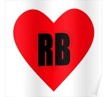 Redbubble - Valentine's Day Hearts - (Designs4You) Poster